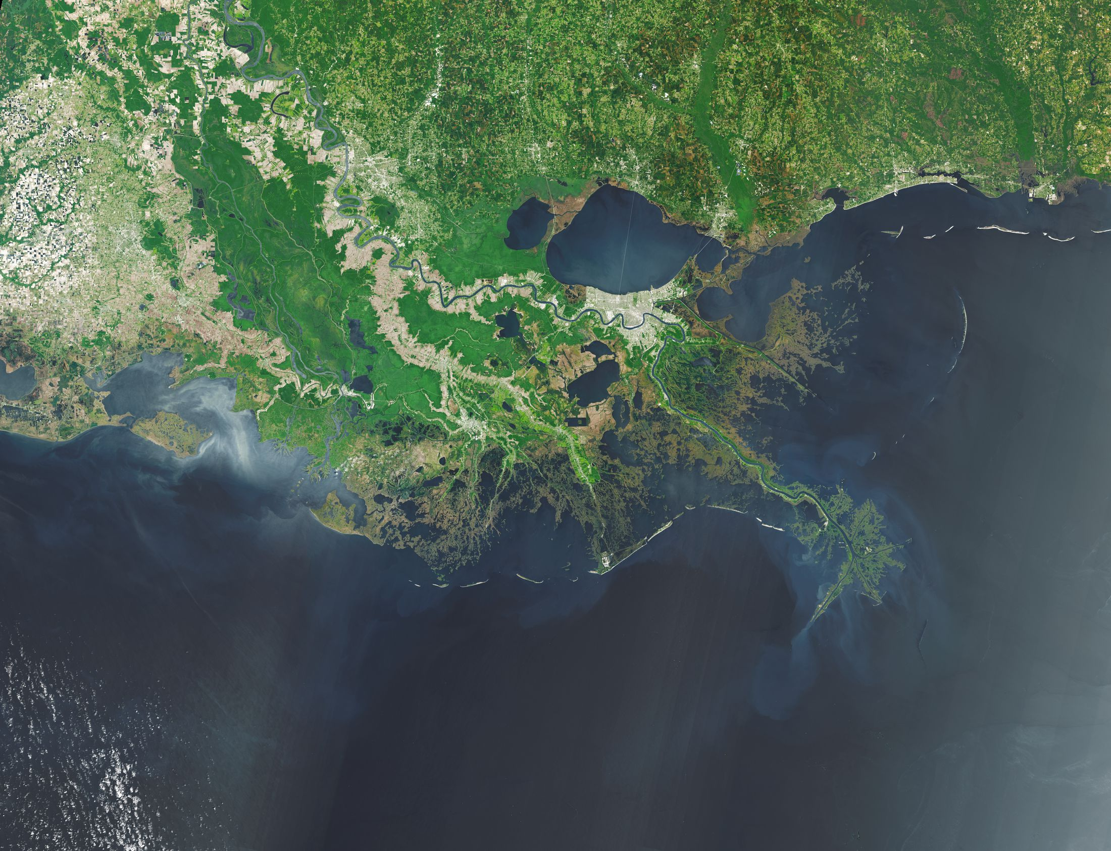Losing Ground: Louisiana's Moon Shot