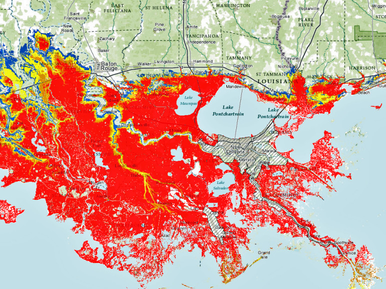 Louisiana Flood Maps Lost Lands Tours | An environmentally responsible swamp tour in  Louisiana Flood Maps