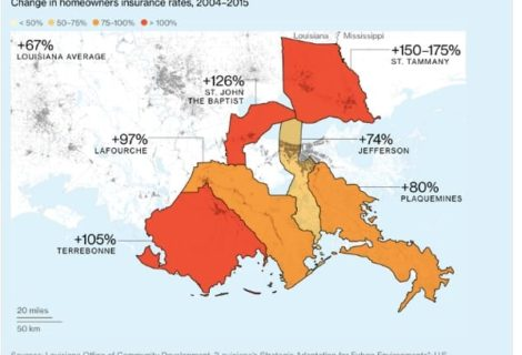 Report: Louisiana Coastal Residents Agree They Face 'Existential' Crisis