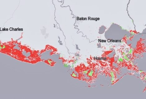 Trump's Policy Moves Sink Louisiana Coast and Foul Its Air