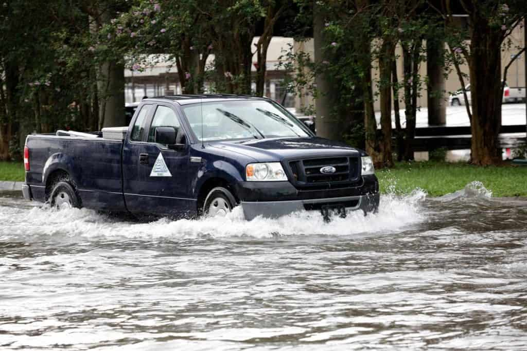 New Orleans flood waters